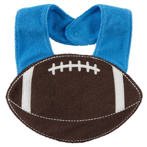 Football Terry Teething Bib