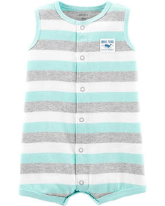 Striped Whale Tours Romper