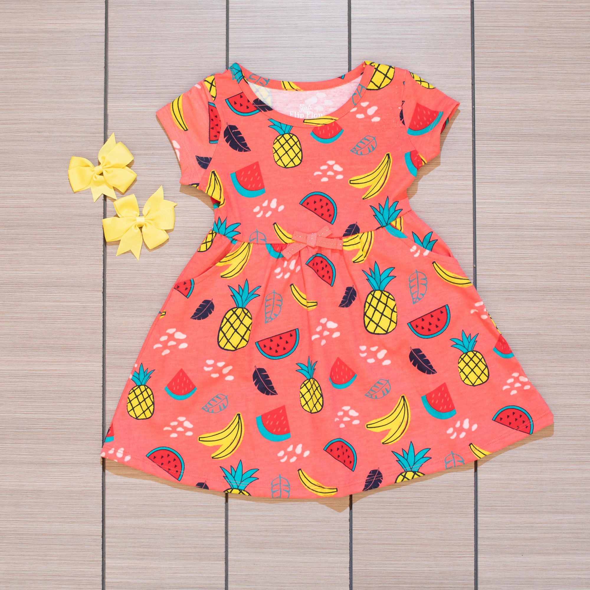 Watermelon Summer Toddler Dress