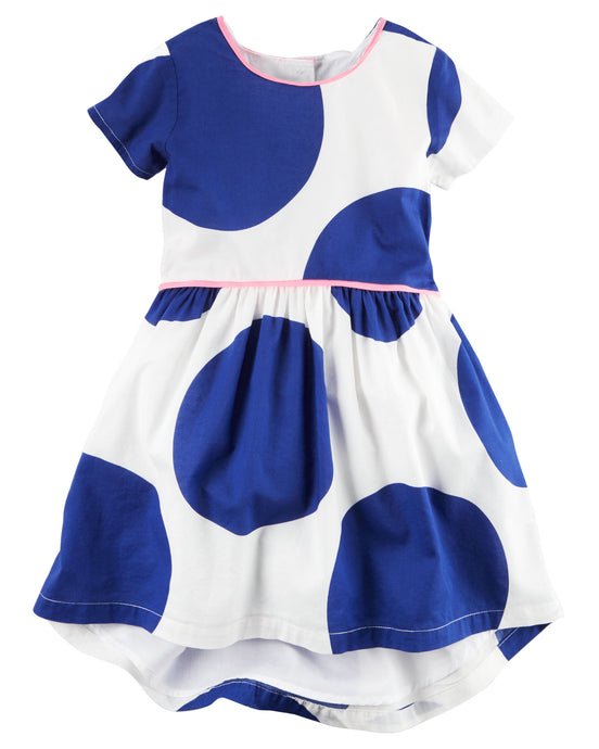 Blue Moon Toddler Dress