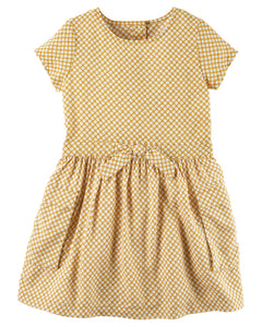 Printed Pocket Toddler Dress