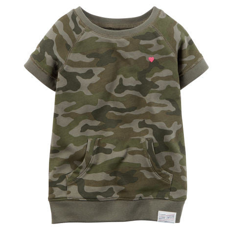 Camouflage Terry Tunic