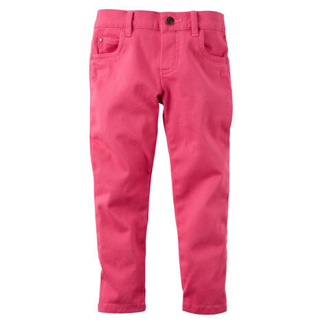 Pink Skinny Stretch Pants