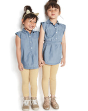 Chambray Geo Toddler Set