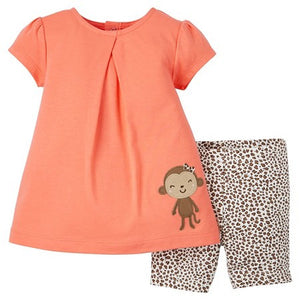 Summer Monkey 2-Piece Set