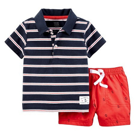 Nautical 2-Piece Set