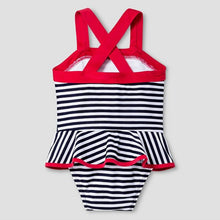 Nautical Toddler Swimsuit