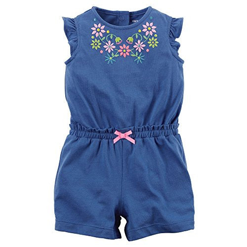 Blue Summer Romper