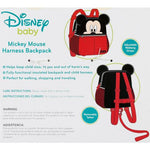 Load image into Gallery viewer, Mickey Mouse Harness Backpack