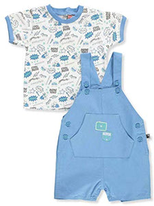 Cool Dude Super Kid Overall Set