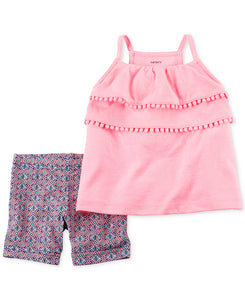 Pom Pom Tank Toddler Set