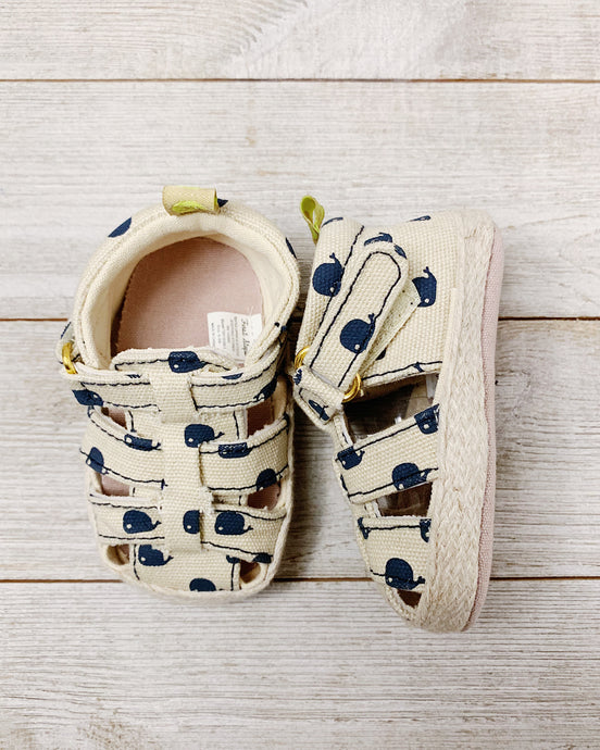 Straw Whale Sandals