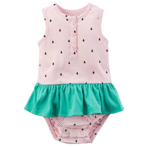 Watermelon Sunsuit