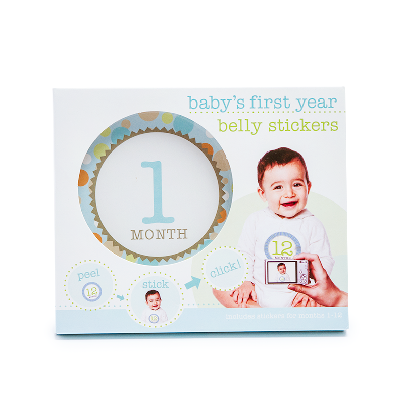 Baby's First Year Stickers