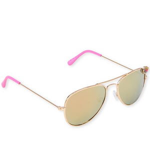 Heart Aviator Sunglasses