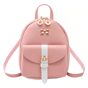 Pink Hailey Mini Backpack