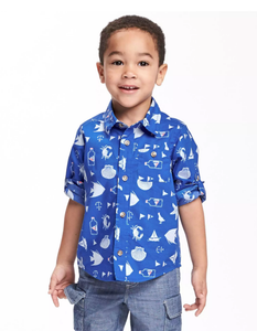 Nautical Toddler Shirt