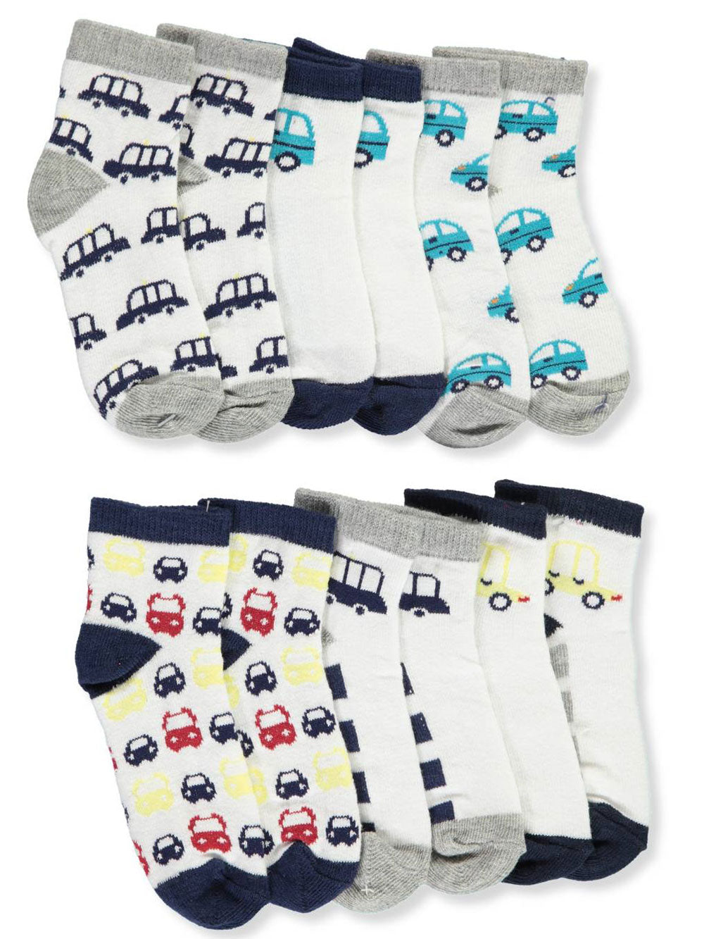 Automobile Socks Set - 6 pc