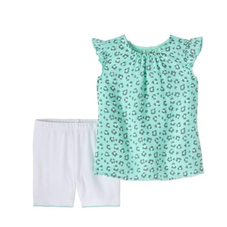 Mint Leopard Mist Set