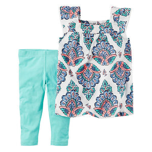 Summer Tunic Toddler Set