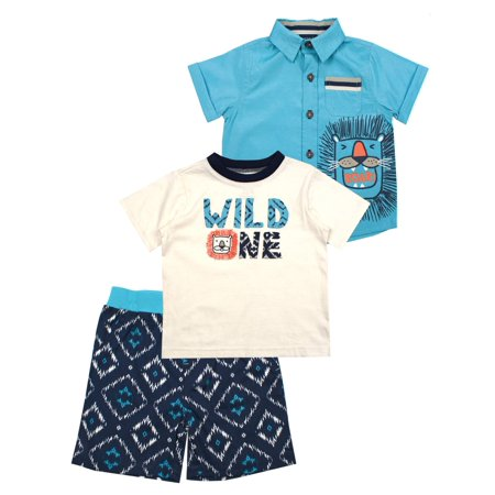 Wild One Lion 3-Piece Set