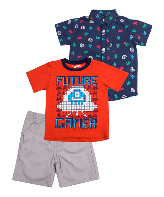 Future Gamer 3-Piece Toddler Set