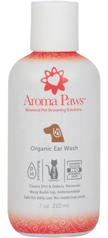 Organic Dog Ear Wash (7oz)