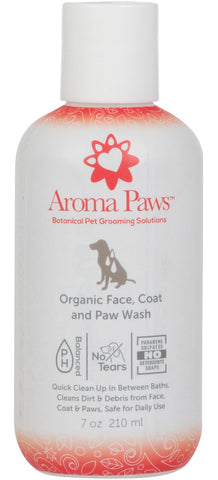 Organic Dog Face, Coat, and Paw Wash