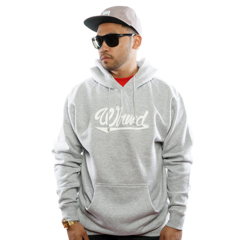 WLRMD SCRIPT (White / Heather) Hoody