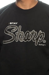 STAY SHARP | Black