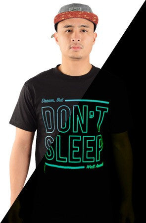DON'T SLEEP | Gamma Blue Glow / Black