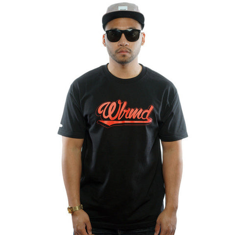 WLRMD SCRIPT (Infrared / Black) T-Shirt