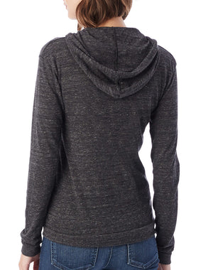 Women's Kindness is Really Hot Eco-Jersey Hooded Pullover - Breathe in Detroit
