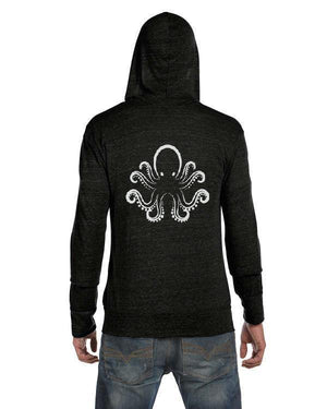 Unisex 108 Octopus Full-Zip Eco Lightweight Hoodie - Breathe in Detroit