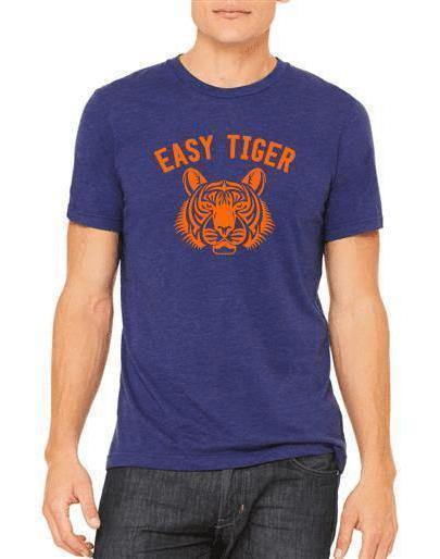 Unisex Easy Tiger Triblend Tee - Double Play! - Breathe in Detroit