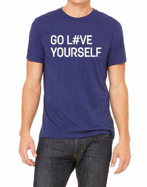 Unisex Go Love Yourself Triblend Tee - Breathe in Detroit