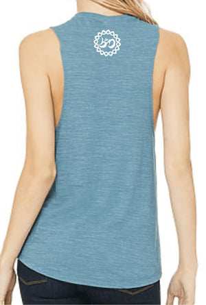 Women's Elevate Muscle Tank - Breathe in Detroit