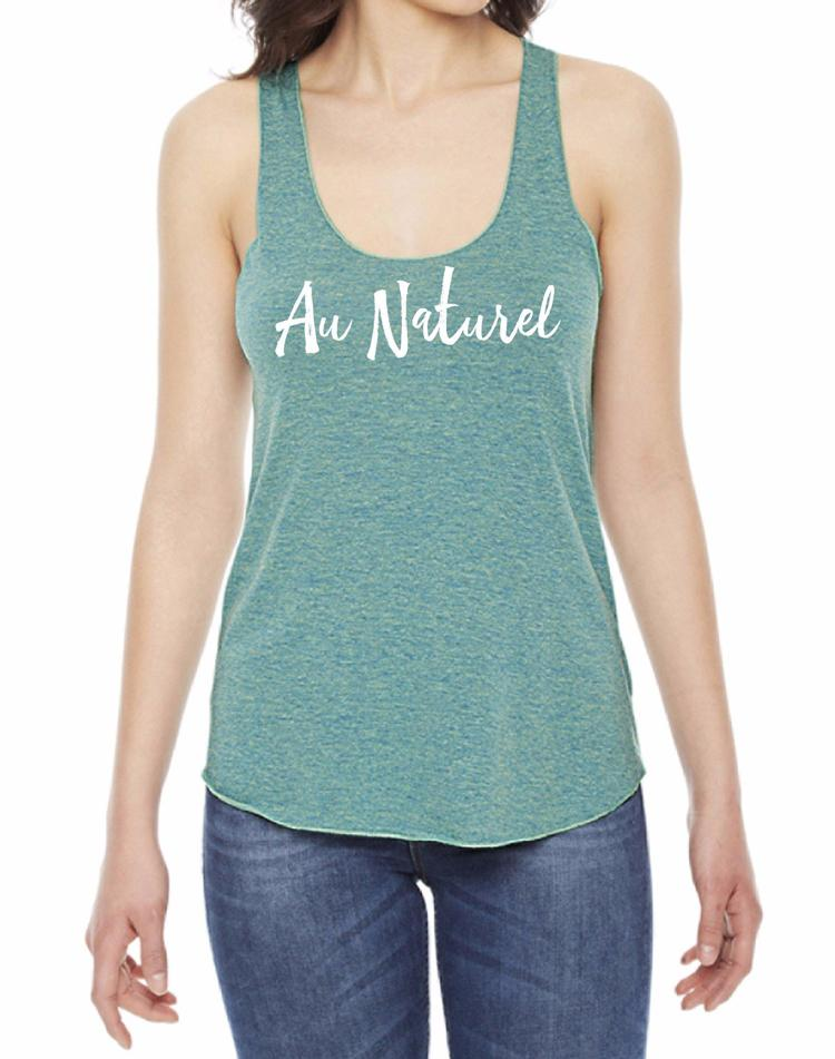 Women's Au Naturel Seagrass Fly Tank - Breathe in Detroit