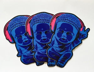 Little Buddha Stickers and Sticker Packs - Breathe in Detroit
