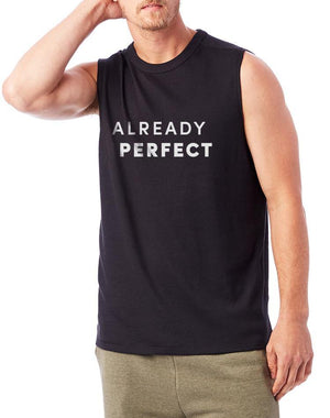Unisex Already Perfect Muscle Tank - Breathe in Detroit