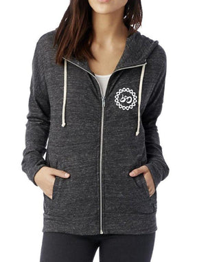 Women's 108 Octopus Anorak Lightweight Zip Hood - Breathe in Detroit