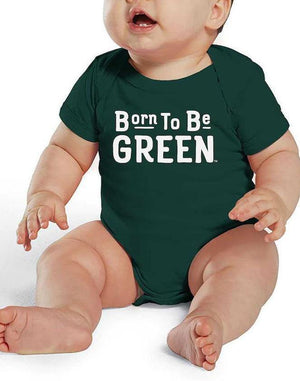 Baby Born Green Spartan Bodysuit (Onesie) - Breathe in Detroit