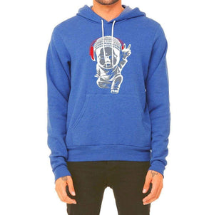 Unisex Little Buddha Fleece Hoodie - Breathe in Detroit