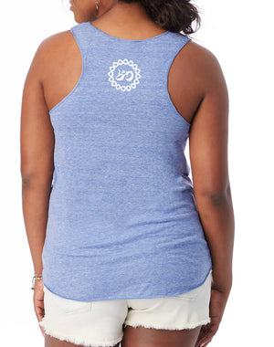 Women's Breathe Like You Mean It Fly Tank - Breathe in Detroit
