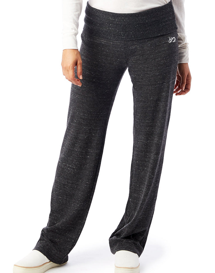 Women's Eco Jersey Fold-Over Lounge Pants - Breathe in Detroit