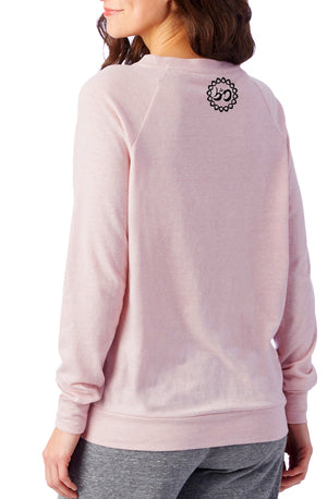 Women's Moon Shadow Slouchy Eco-Jersey Pullover - Breathe in Detroit