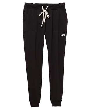 Women's French Terry Jogger Lounge Pants - Breathe in Detroit