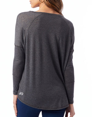 Women's Find Your Fire Eco Gauze Raglan Tunic - Breathe in Detroit