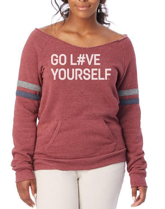 Women's Go Love Yourself Sport Maniac Sweatshirt - Breathe in Detroit