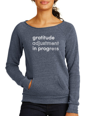 Women's Gratitude Maniac Sweatshirt - Breathe in Detroit